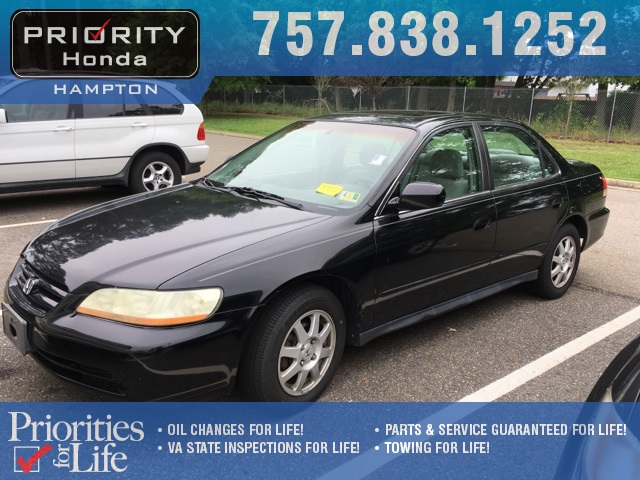 Marvelous Pre Owned 2002 Honda Accord SE