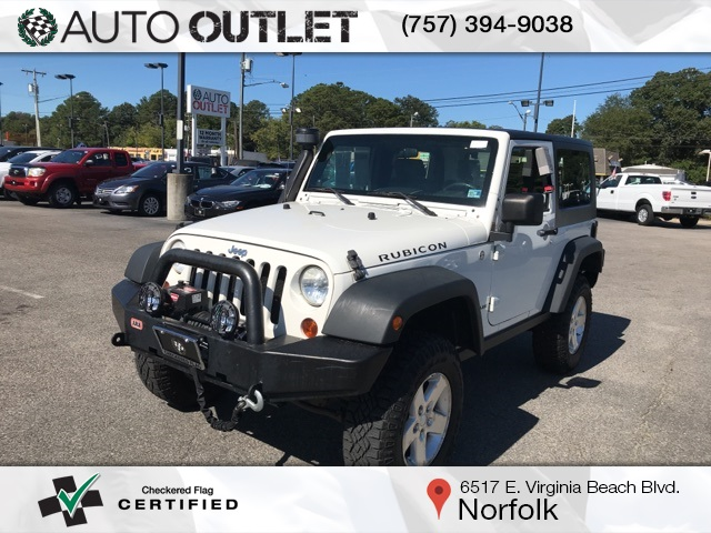 Pre-Owned 2009 Jeep Wrangler Rubicon