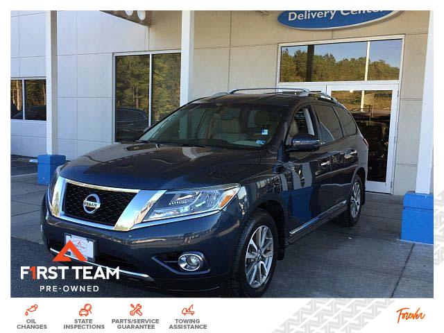 Pre-Owned 2016 Nissan Pathfinder 2WD 4dr SL