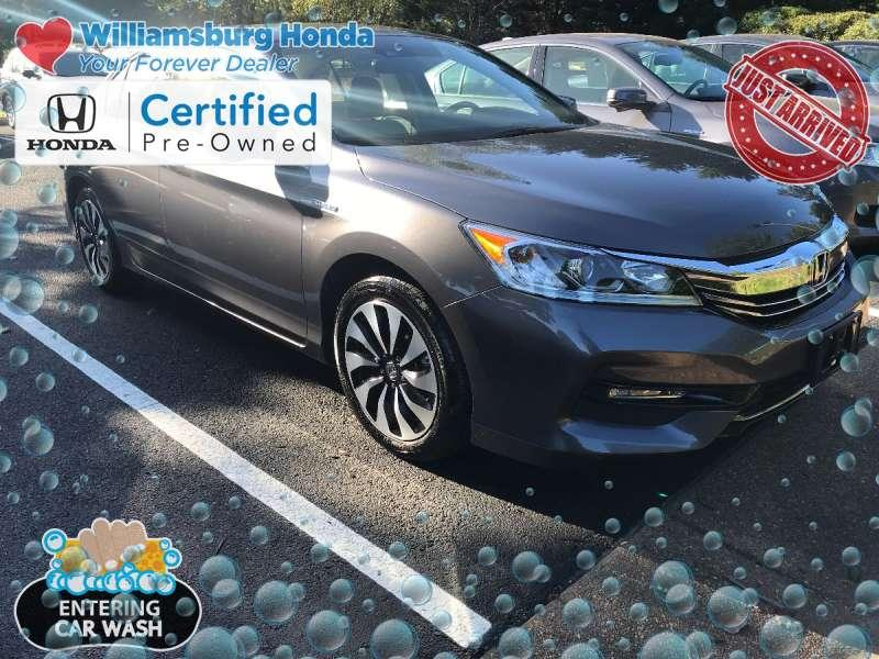 Certified Pre-Owned 2017 Honda Accord Hyrbid