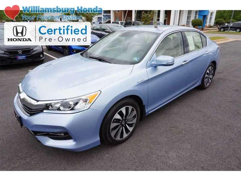 Certified Pre-Owned 2017 Honda Accord EX-L Hybrid