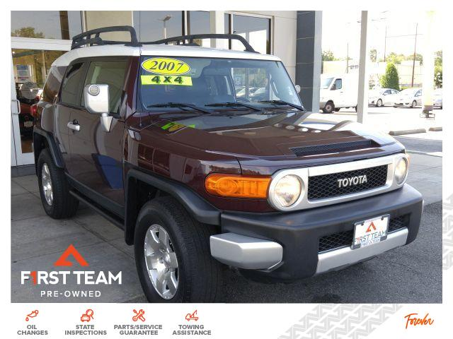 Pre-Owned 2007 Toyota FJ Cruiser 4WD 4dr Auto