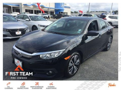 Pre-Owned 2017 Honda Civic EX-T CVT