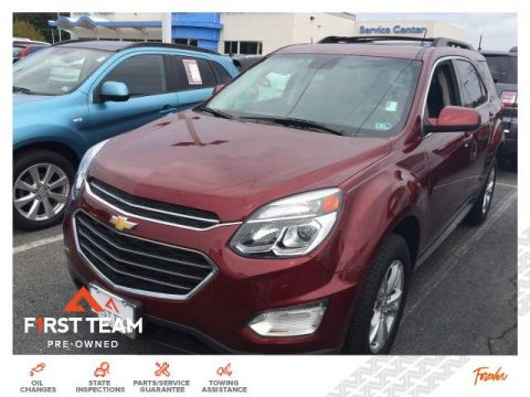 Pre-Owned 2017 Chevrolet Equinox FWD 4dr LT w/1LT
