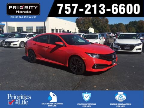 Pre-Owned 2020 Honda Civic Sport