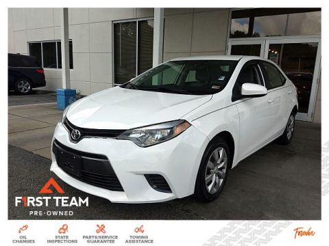 Pre-Owned 2016 Toyota Corolla 4dr Sdn CVT LE