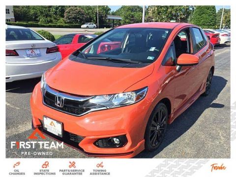 Certified Pre-Owned 2018 Honda Fit Sport CVT