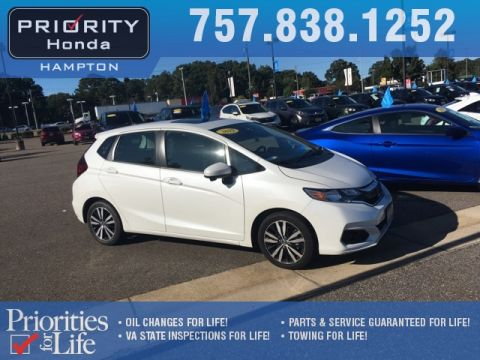 Certified Pre-Owned 2019 Honda Fit EX
