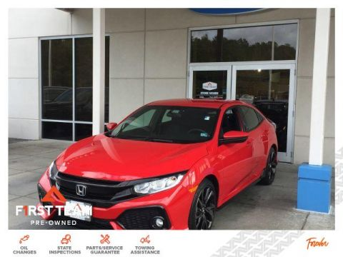 Pre-Owned 2017 Honda Civic Hatchback Sport CVT
