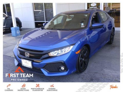 Pre-Owned 2018 Honda Civic Hatchback EX-L Navi CVT